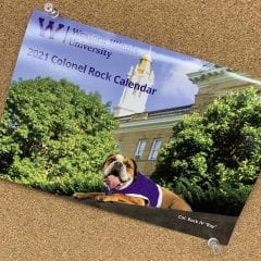 Col. Rock IV 2021 Calendar on Sale at University Bookstore