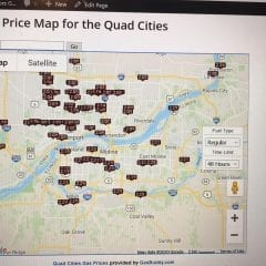 Find The CHEAPEST SPOTS FOR GAS In The Quad-Cities On The QuadCities.com Gas Price Map!