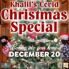 Khalil's Christmas Special Is The Holiday Special YOU NEED This Weekend.