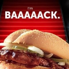 This Year Has Sucked Enough, Let People Have Their McRibs And Nickelback
