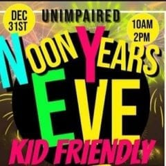 Looking For Something To Do With The Kids For NOON Year's Eve Tomorrow?