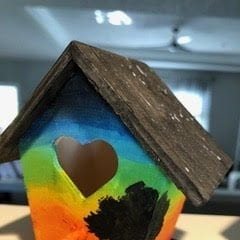 Quad-Cities' Living Proof Birdhouse Project Soars to Seniors in Chicago