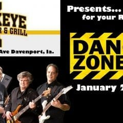 Fly Into The Danger Zone At Davenport's Hawkeye Tap!