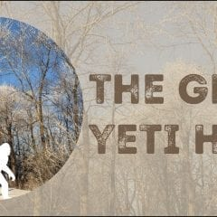 Hunt For YETIS In Johnson County Tomorrow!