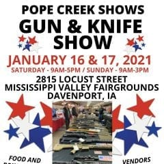 Gun And Knife Show Rolling Into Davenport Fairgrounds