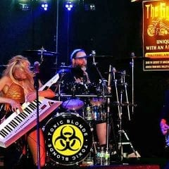 Toxic Blonde Mixing It Up Saturday at Gypsy Highway