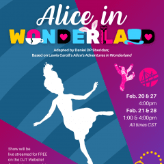 "Davenport Junior Theatre Tackles ""Alice"" for 8th Time, First Virtually"
