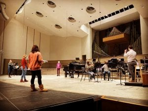 Augustana Musical Theater Prof Juggles Many Musical Projects