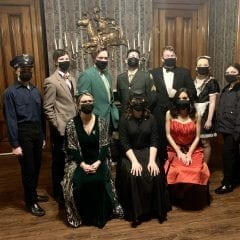 """Davenport Central Students Star in Online Production of """"Clue"""""""