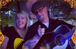 BanD Acoustic Strumming Into The Pub Friday Night