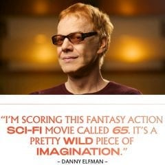 """Quad-Cities Filmmakers Scott Beck And Bryan Woods' """"65"""" Being Scored By Danny Elfman"""