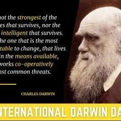Darwin Day Celebration Evolving Friday