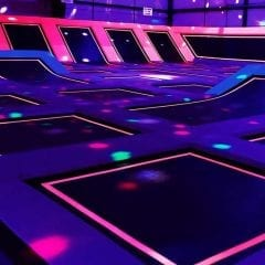 Jump On Over To Glow Night At The Trampoline Park!