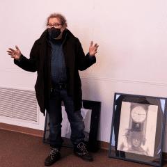 Davenport Artist Bruce Walters Has New WIU Exhibit, on Eve of Retiring