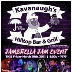 HUGE Quad-Cities Jambrella Jam Rocking Kavanaugh's Friday, Second Festival Planned June 12