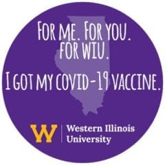 Western Illinois University COVID-19 Moderna Vaccination Clinic #2 April 29