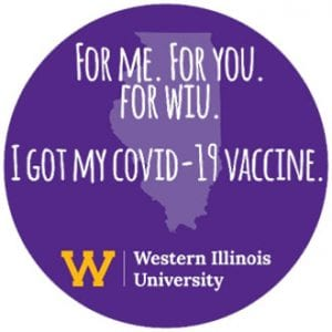 WIU COVID-19 Moderna Vaccination Clinic April 14-15 Opens to All WIU, SRC Members, Community Residents