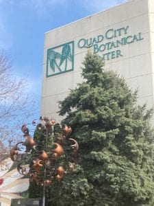 Headwaters Of Mississippi River Crashing Into Rock Island's Quad City Botanical Center
