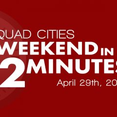 Quad-Cities Garage Sales, Volkswagen Show, Live Bands And More In Our Weekend In 2 Minutes!