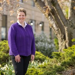 MIchelle Janisz Named Western Illinois University April Employee of the Month