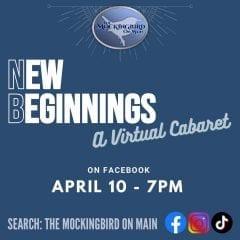 EXCLUSIVE: New Theater, Mockingbird On Main, Coming To Downtown Davenport; Virtual Cabaret Tomorrow