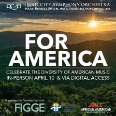 Quad City Symphony Orchestra Bringing 'Masterworks VI: For America' To Davenport's Adler Theater