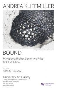 Exhibit by Senior Art Prize Winner Opens April 20 at Western Illinois University Art Gallery
