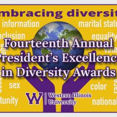 Western Illinois University Presents Excellence in Diversity Awards 2021