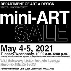 Western Illinois University Hosting Mini-Art Sale Today!