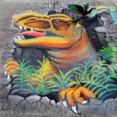 Quad City Arts Chalk Art Fest Shining On Downtown Rock Island