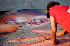 Quad City Arts Presenting Chalk Art Fest In Rock Island