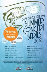 Live Summer Concert Series in Quad Cities Return This Month
