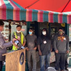 Moline Centre Partners With Black Hawk College Program on Downtown Parklets