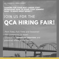 Quad-Cities Hiring Fair For 10th-12th Graders Coming Up Thursday