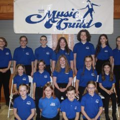 Quad City Music Guild Youth Chorus Performing Spring Concert