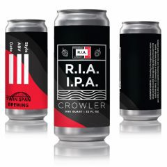 Twin Span Brewing, Credit Union Relaunch Special R.I.A. Beer