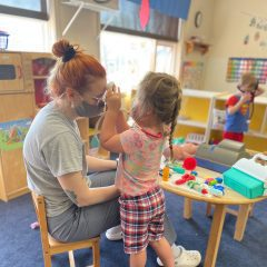 Rare Quad-Cities Child-Care Therapist Helps Kids, Families Cope With Covid