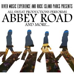 All Sweat Performing Abbey Road In Rock Island's Schwiebert Park