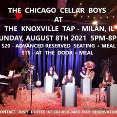 Chicago Cellar Boys Bringing Bix-Style Jazz To Milan's Knoxville Tap