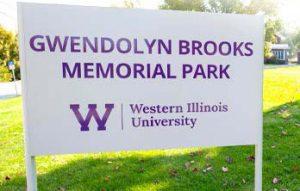 Western Illinois University Dedicating Gwendolyn Brooks Memorial Park June 12