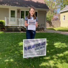 Katie Poulos Honored With Rock Island Center For Math And Science 'Above And Beyond Award'
