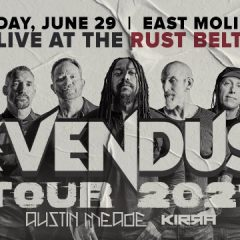 Sevendust, With Austin Meade, Kirra, And Alborn, Coming To Rock The Rust Belt