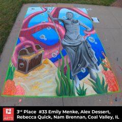 Quad City Arts Salutes Winners of 5th-Annual Chalk Art Fest in Rock Island