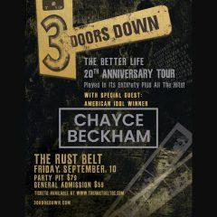 3 Doors Down Coming To East Moline's Rust Belt
