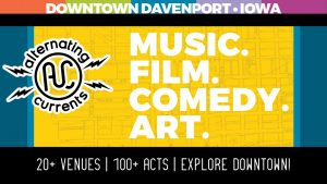 Alternating Currents in Downtown Davenport Announces Music Lineup