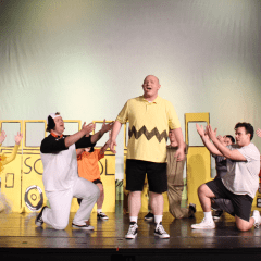 """Boisterous """"Charlie Brown"""" Cast at Moline's Spotlight Loves Being Back on Stage"""