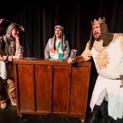 """REVIEW: Moline's Music Guild Returns With Streamed, Fairly Lifeless """"Spamalot"""""""
