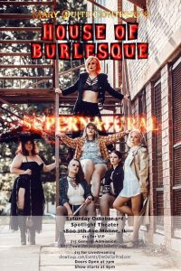Hot New Quad-Cities Troupe, Taboo Burlesque, Debuts Saturday!