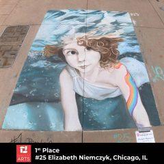 Quad City Arts Announces Chalk Art Fest Winners!
