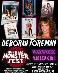 'Valley Girl' Deborah Foreman Coming To Midwest Monster Fest In East Moline
